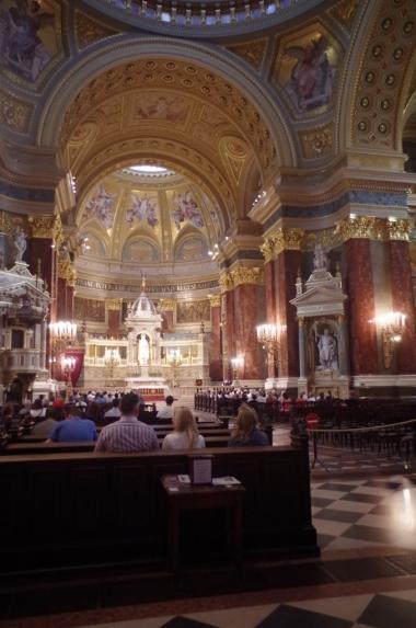Wnętrze Bazyliki św. Stefana