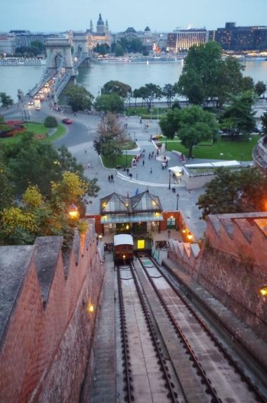 Budapeszt. Most Łańcuchowy.