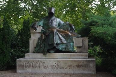 Anonymus, kronikarz i notariusz króla Béli III