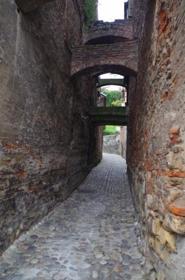 Droga na zamek w Ptuju