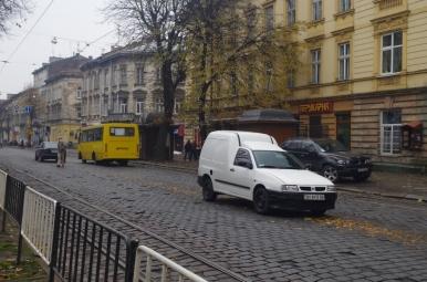 Parkowanie we Lwowie...