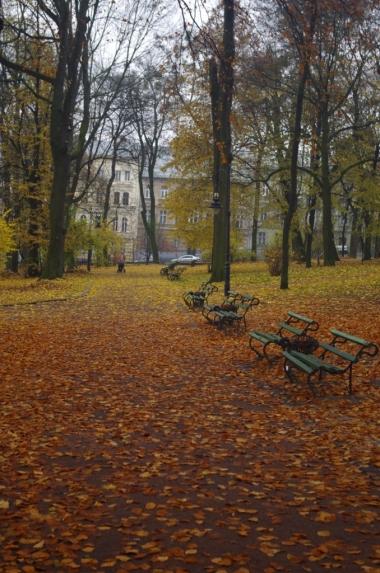 Park Iwana Franki (były Ogród Jezuicki) we Lwowie