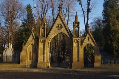 Brama Cmentarza Łyczakowskiego