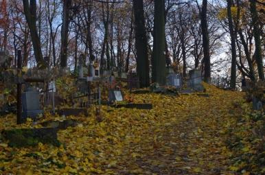 Jesienny Cmentarz Łyczakowski