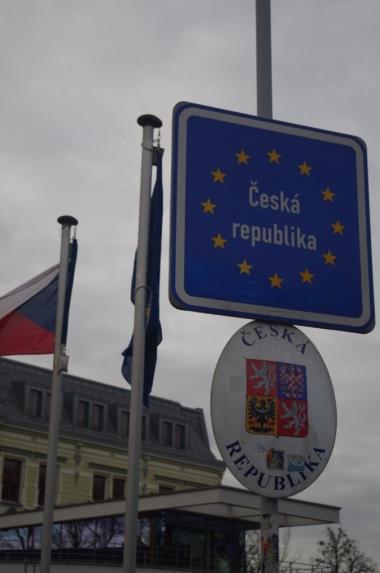 Na granicy polskiego i czeskiego Cieszyna