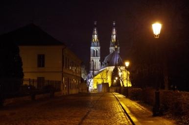 Wyszehrad - kościół św. Piotra i Pawła
