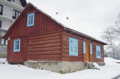Stare domostwo w przysiółku Dupaki