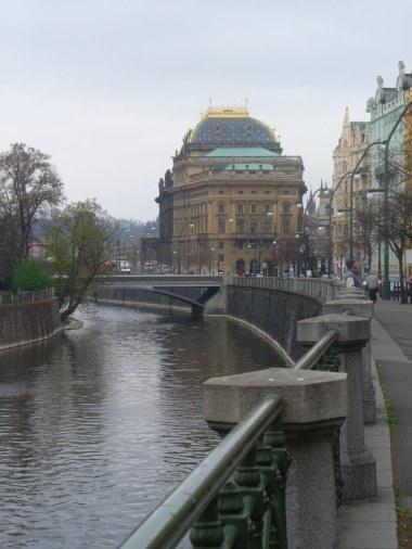 Teatr Narodowy, Praga, zdjęcie wykonano 5 IV 2012 r.