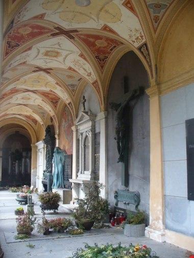 W mauzoleum Slavin w Wyszehradzie, Praga, zdjęcie wykonano 5 IV 2012 r.