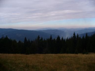 Widok spod Bendoszki Wlk. na wschód, zdjęcie wykonano 8 IX 2010 r.