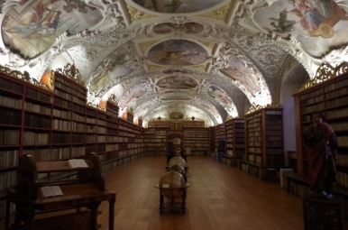 Biblioteka Strahowska - Sala Teologiczna, Praga