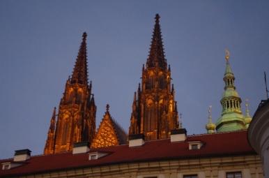 Wieże Katedry św. Wita