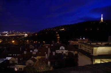 Widok na Pragę z Hradczan