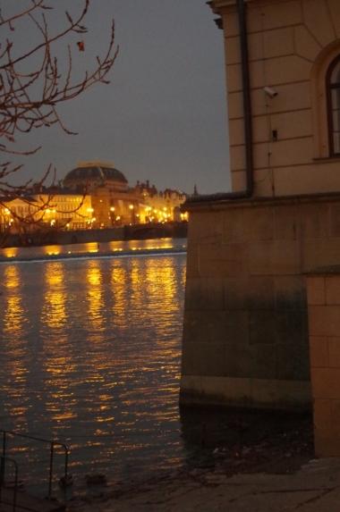 Kampa i Wełtawa, Praga