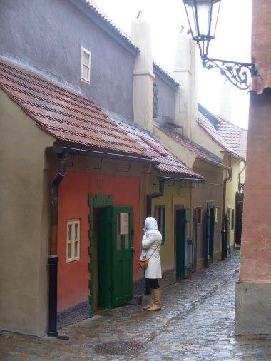 Złota Uliczka, zdjęcie wykonano 5 IV 2012 r.