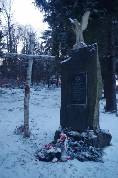 Pomnik ku czci ks. Władysława Gurgacza i poległych w walce z UB i KBW