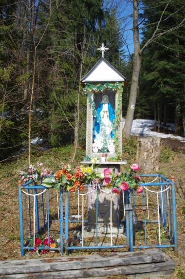 Kapliczka na Przełęczy Przysłopek