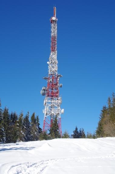 Wieża przekaźnikowa na Przehybie