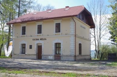Stacja kolejowa w Kasinie Wielkiej