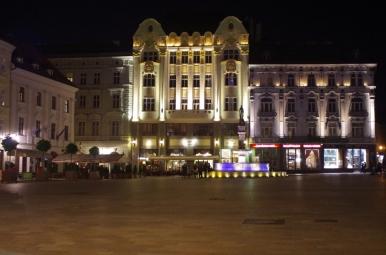 Hlavné námestie nocą