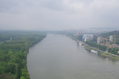 Widok z platformy widokowej
