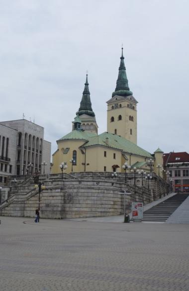 Katedra św. Trójcy, Žilina