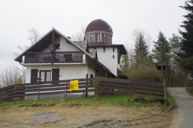 Prywatne obserwatorium astronomiczne pod Chełmem