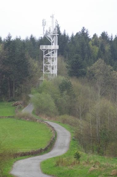 Wieża widokowa na Chełmie