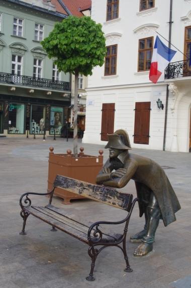 Podsłuchujący żołnierz napoleoński