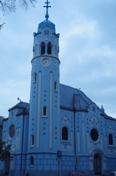 Kościół św. Elżbiety (Modrý kostolík)