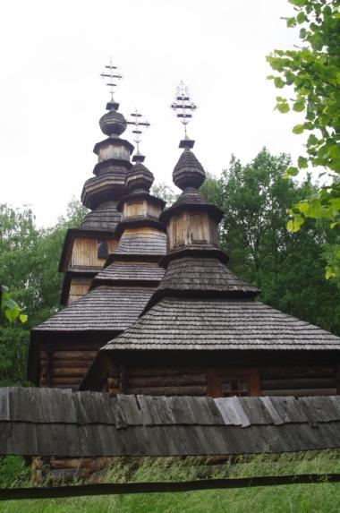 Gaj Szewczenki - cerkiew z Kotani