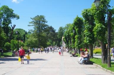 Truskawiec - Bulwar Torosewycza