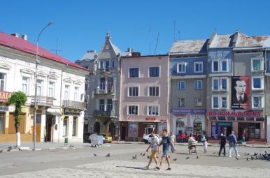 Rynek w Drohobyczu