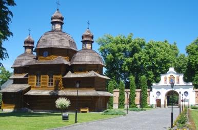 Na terenie klasztoru w Krechowie