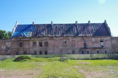 Zamek w Żółkwi - widok z dziedzińca