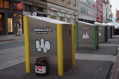Segregacja odpadów, Ljubljana