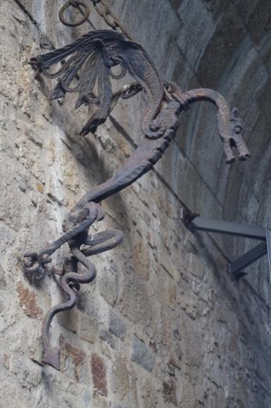 Smoki są wszędzie... na zamku w Ljubljanie