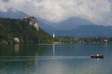 Jezioro i zamek Bled