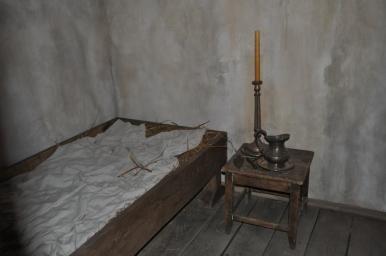 Cela Konrada w Klasztorze Bazylianów, zdjęcie wykonano 18.04.2012 r.