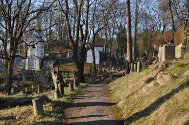 Cmentarz na Rossie, zdjęcie wykonano 18.04.2012 r.
