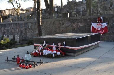 Cmentarz na Rossie - miejsce pochówku matki i serca Piłsudskiego, zdjęcie wykonano 18.04.2012 r.