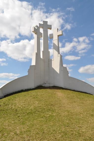 Góra Trzykrzyska, zdjęcie wykonano 18.04.2012 r.