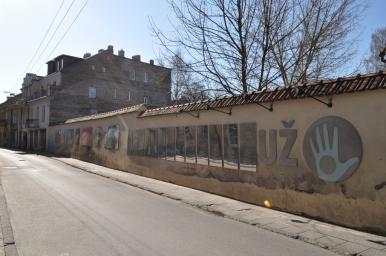 Konstytucja Republiki Zarzecza, zdjęcie wykonano 18.04.2012 r.