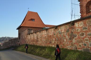 Wileńskie mury obronne, zdjęcie wykonano 18.04.2012 r.