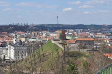 Widoki z Góry Trzykrzyskiej na Wilno, zdjęcie wykonano 18.04.2012 r.