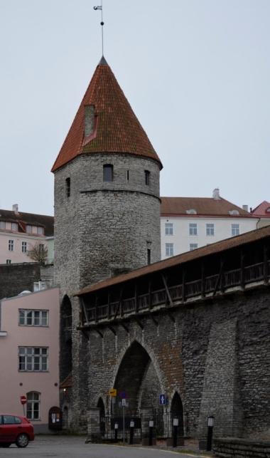 Tallińskie mury miejskie