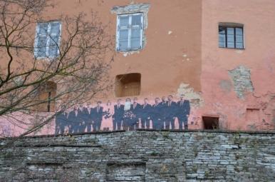 Mural na wzgórzu Toompea, Tallin