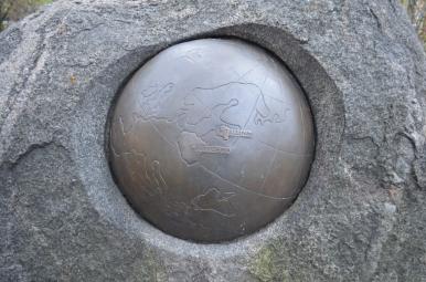 Kamień Solidarności, Tallin, fot. Maja Cybulska