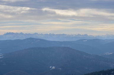 Widok z Mogielicy na Tatry, fot. Maja Cybulska