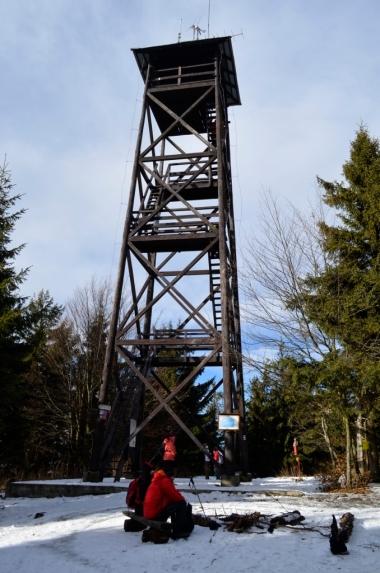 Wieża widokowa na Mogielicy, fot. Maja Cybulska